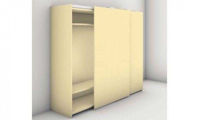 Goede Gelijkliggend schuifdeursysteem bovenkast 2200 mm PC-56