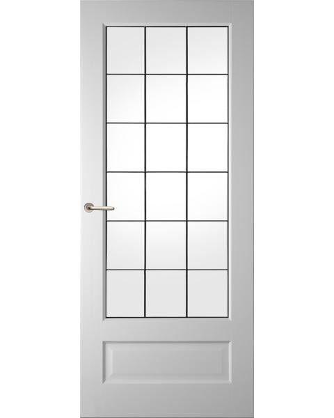 Binnendeur Glas In Lood.Glas In Lood Paneeldeur Wk6561 1 A1