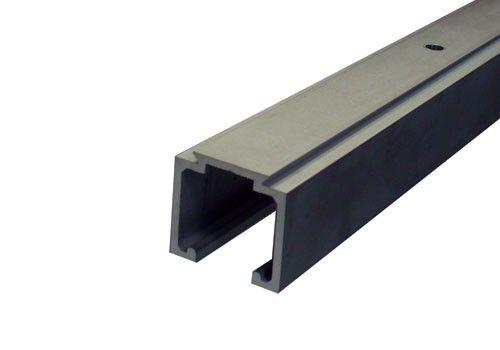 Rail Voor Schuifdeur.Aluminium Schuifdeurrail 300 Cm Max 80 Kg Meter