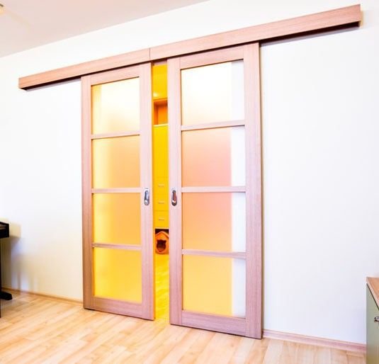 Compleet ophangsysteem schuifdeur deur max 95 cm breed 80 kg - Schuifdeur deur ...