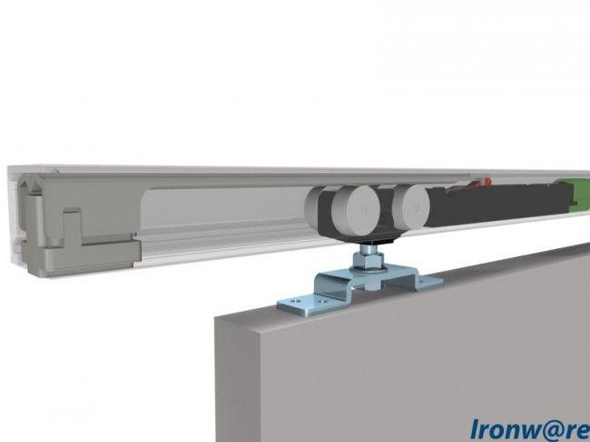 Systeem Voor Schuifdeur.Schuifdeursysteem Basic Softclose 80kg 1200