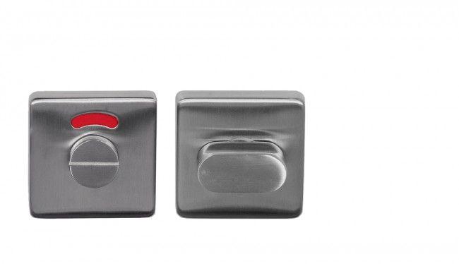Toilet Vrij Bezet : Toilet set bediening rvs vierkant