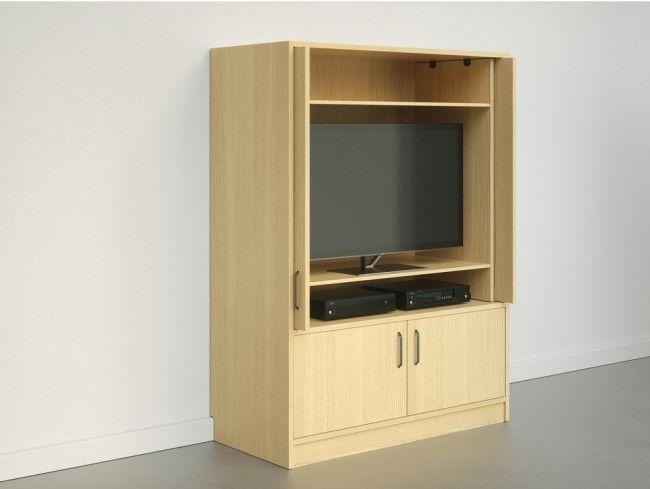 Zelfbouw Tv Kast.Draai Schuifgeleider Voor Meubelpanelen Tot En Met 2300 Mm Hoog
