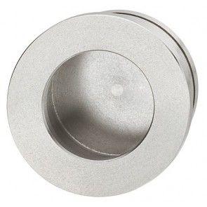 rvs mat geborsteld cirkelvormige komgreep 35 mm schroefloze bevestiging, om te lijmen