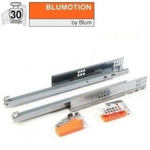 Blum Tandem 550H - Blumotion softclose - 270 t/m 550 mm - enkel uittrekbaar - max 30 kg - productafbeelding - 550H-B