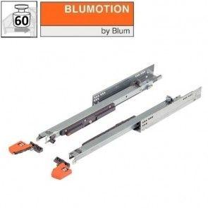 Blum Movento 766H Blumotion softclose - 450 t/m 750 mm - volledig uittrekbaar - max 60 kg - productafbeelding - 766HB