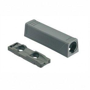 Blum Tip-On adapter Zodat inboorvariant kan worden geschroefd -GRIJS - productafbeelding - 956.1201/GRIJS