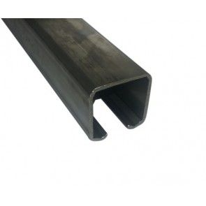 Compleet RVS ophangsysteem schuifdeur max 300 cm WANDmontage rail
