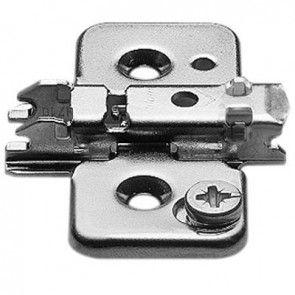 Standaard montageplaat - 0 mm - montage met schroef dikte 3,5 mm