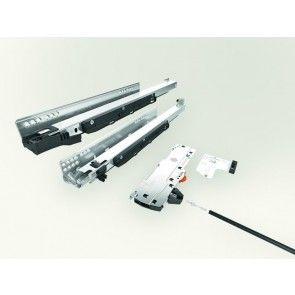 Blum Movento 760HM Blumotion softclose & Tip-on druk open ladegeleider - kogelgelagerd - inbouwlengte 500 t/m 750 mm - volledig uittrekbaar - max 60 Kg - staal verzinkt