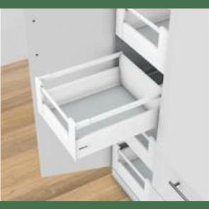 Blum Antaro Blumotion - Binnenlade K/Reling D - hoogte 224mm - 65kg - Zijdewit