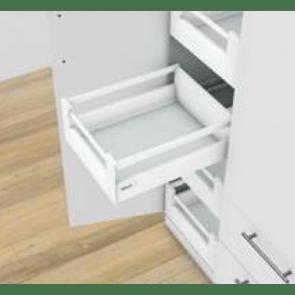 Blum Antaro Blumotion - Binnenlade M/Reling C - hoogte 192mm - 30kg - Zijdewit