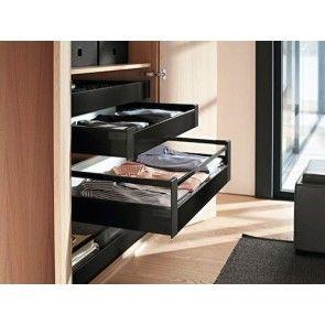 Blum Antaro Blumotion - Binnenlade M/Reling C - hoogte 192mm - 30kg - Terrazwart