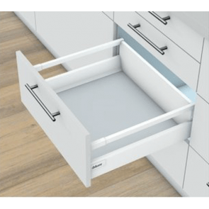 Blum Antaro Blumotion - Voorraadlade M/Reling C - hoogte 192mm - 65kg - Zijdewit
