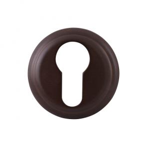 Cilinderrozet rond - antiek brons afgewerkt - 51mm diameter
