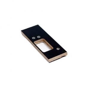 Enkelvoudige freesmal 89 x 89 scharnier RECHTS Voor 1 scharnier in kozijn en deur
