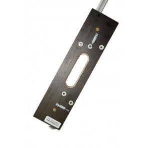 Enkelvoudige freesmal voor Tectus TE240 Voor 1 scharnier in kozijn en deur