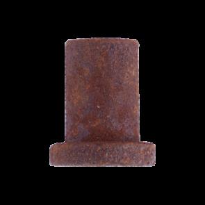 wandmontagesteun voor schuifdeur - roest - 3,5 cm - deurdikte max 4 cm