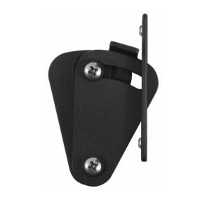 Schuifdeurslot - zwart RAL9005 - staal verzinkt