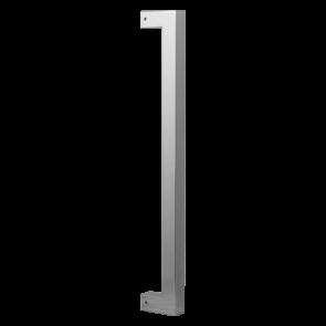 Vierkante deurgreep - RVS geborsteld - 22x800 mm