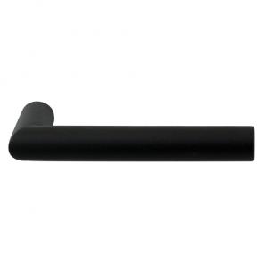 Set deurkrukken TOI- zwart RVS - L-haaks