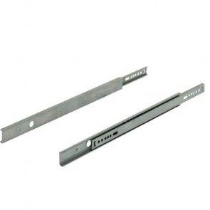 Groef ladegeleider 27x10 mm | Inbouwlengtes 278 of 342 mm | Draagvermogen max 12 Kg
