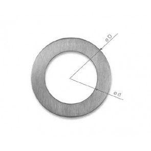 Didheya schuifdeurgreep 100 mm rond Universeel voor houten of glazen schuifdeur