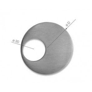 Didheya schuifdeurgreep 70 mm rond Universeel voor houten of glazen schuifdeur