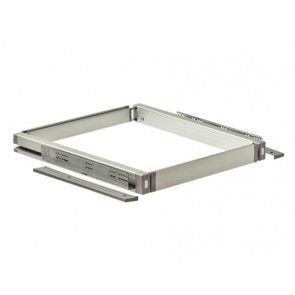 Basisframe zilverkleurig 970-1100mm breedte Maximale draagkracht 40 Kg