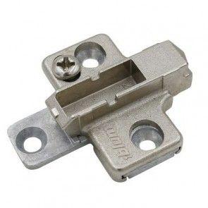 Kruis montageplaat - 3 mm - montage met schroef dikte 3,5 mm - productafbeelding - 175H7130