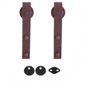 Lanka schuifdeurroller - roest bruin staal - max 125 Kg