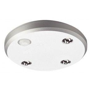 LED batterijlamp rond 100 x 17 mm Met bewegings sensor