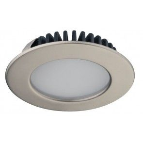 LED spot 12V - 3,2W - warm wit 3000K - mat vernikkeld
