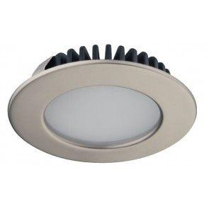 LED spot 12V - 3,2W - daglicht wit 6000K - mat vernikkeld