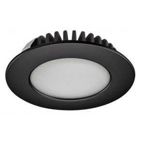 LED spot 12V - 3,2W - warm wit 3000K - zwart