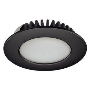 LED spot 12V - 3,2W - daglicht wit 6000K - zwart