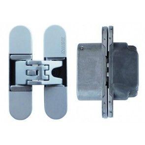 Kubica K6200 DIN onafhankelijk - chroom mat Max deurgewicht 60 Kg bij 3 scharnieren