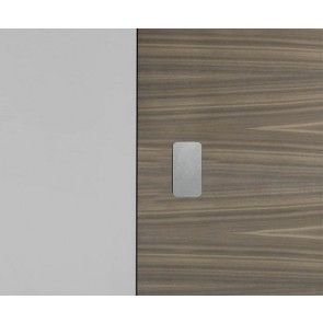 P02 INOX plaatjes voor No-Ha - 4mm Kant-en-klare afdekplaatjes voor in de deur