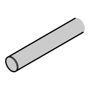 RVS Looprail (mat) voor design 70V lengte 2104 mm Voor deur 960 t/m 1050 mm