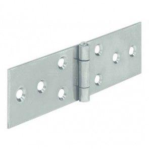 Bladscharnier staal verzinkt - 120x33 mm - geklonken stift - productafbeelding - 354.31.959