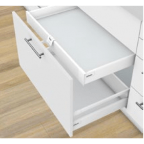 Blum Antaro Blumotion - Binnenlade K - hoogte 115mm - 65kg - Zijdewit