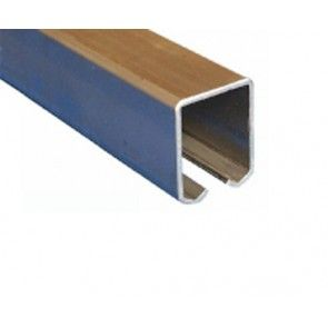 Schuifdeur rail - staal verzinkt - L=300 cm - Maximale belasting 1000 Kg/meter