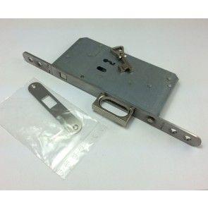 SSF Serie 72 Baardsleutel variant Schuifdeur insteekslot - met uitklikbare greep om deur uit nis te trekken