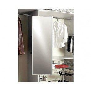 SUZE spiegel uittrekbaar en draaibaar hoogte bedraagt 1155 mm