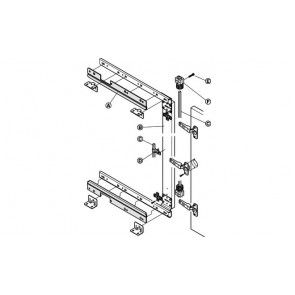 Synchroonset voor lineaire geleider 500 mm