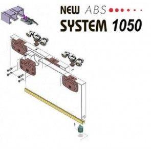 Schuifdeurkast systeem met demping - voor deuren tot maximaal 80 kg