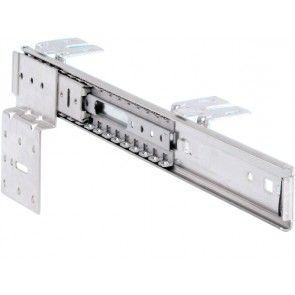 Voorbeeld set: Draai- schuifgeleider voor meubelpanelen tot en met 2300 mm hoog - tv kast geleiders