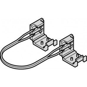 LEDstrip verbindingskabel met 2 clips - 2000 mm