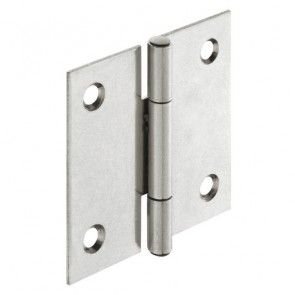Bladscharnier staal verzinkt - 40x40 mm - geklonken stift - productafbeelding - 354.03.928