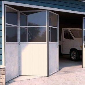 Voorbeeldset - Vouwdeursysteem buitendeuren - ROB 130.000 - 3 panelen - 55kg per paneel